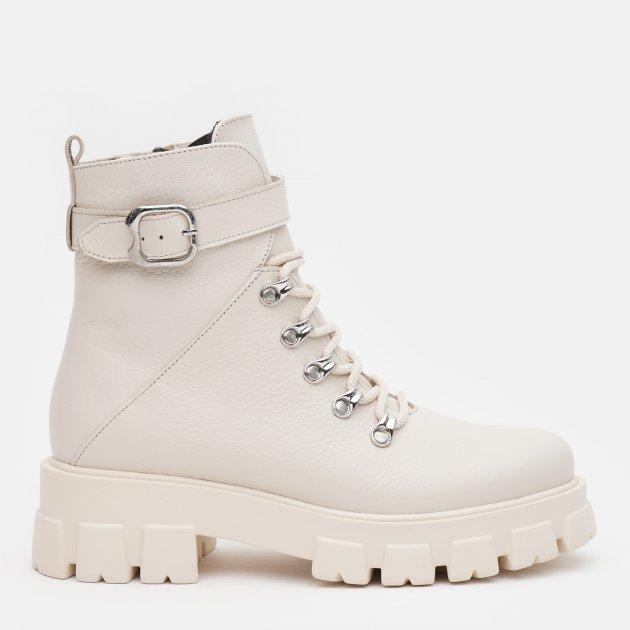 Ботинки LeoModa 58_330 39 (25 см) Бежевые (2000000000626)