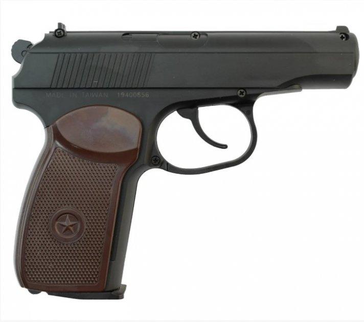 Пістолет пневматичний SAS Makarov SE кал. 4.5 мм. 23702862 - зображення 1