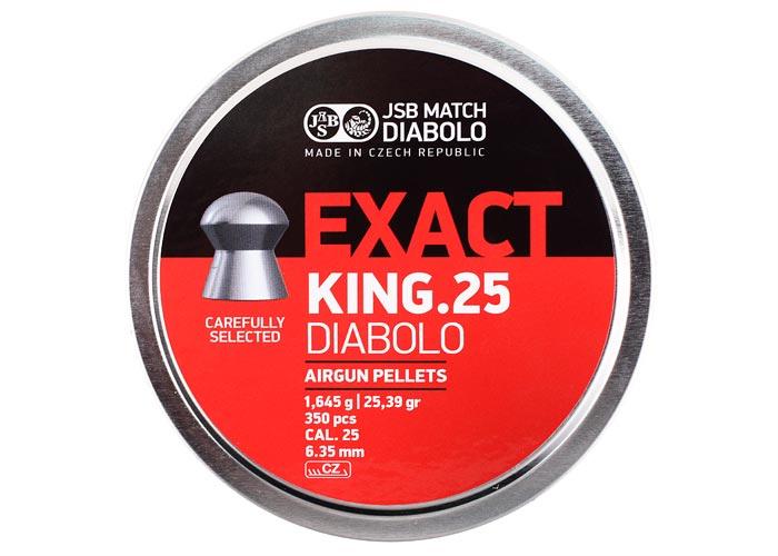 Кулі пневматичні (для воздушки) 6,35 мм 1,645 р (350шт) JSB Diabolo Exact King. 14530537 - зображення 1