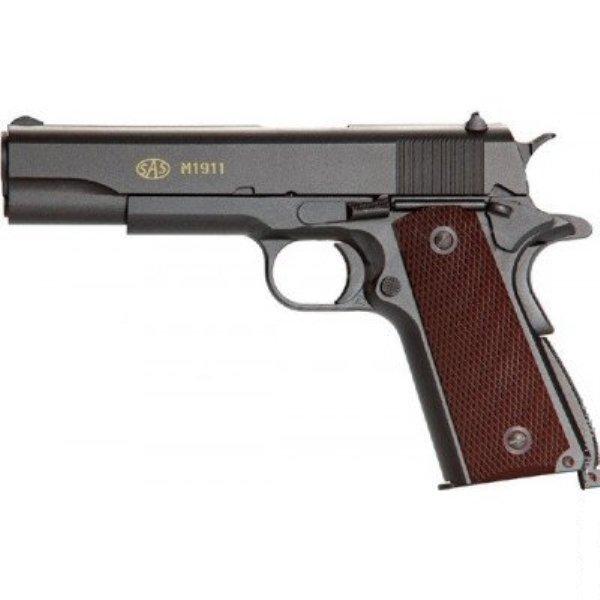 Пістолет пневматичний SAS M1911 Pellet кал. 4.5 мм. 23703050 - зображення 1