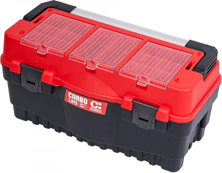 """Ящик для инструмента Qbrick System S700 Carbo Red 25.5"""" мм (SKRS700FCPZCZEPG001) - изображение 1"""