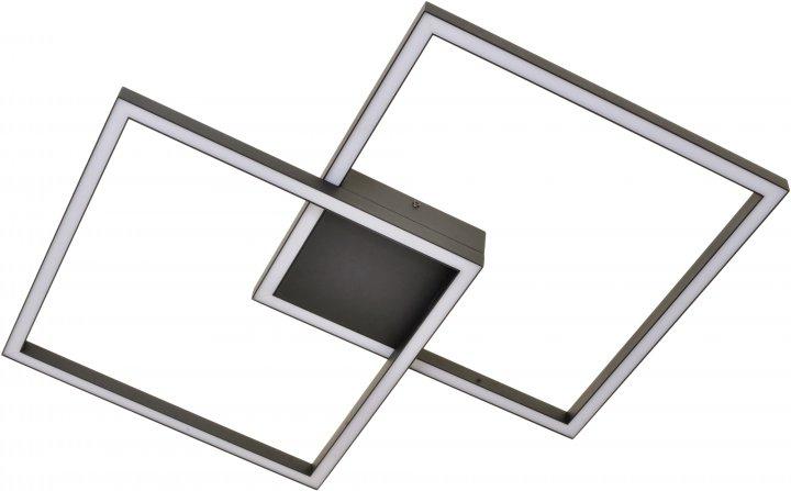 Світильник настінно-стельовий Brille BL-827C/50 Вт WW BK (23-877) - зображення 1