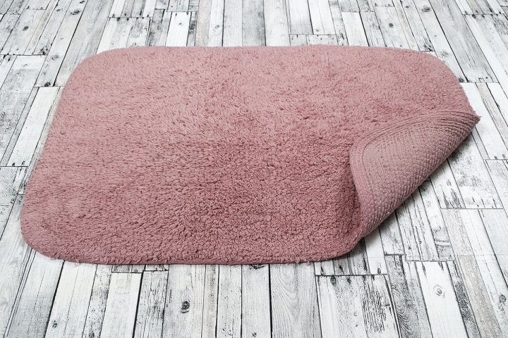 Коврик Irya - Basic pink розовый 40*60 - изображение 1