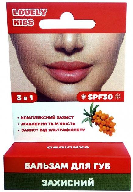 Бальзам для губ Lovely Kiss Защитный 5 г (4820208130585) - изображение 1