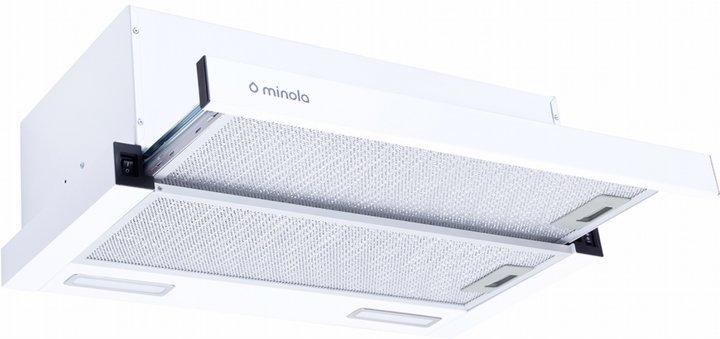 Вытяжка MINOLA HTL 6215 WH 700 LED - изображение 1