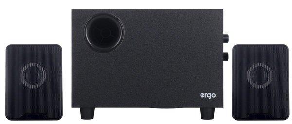 Колонки для ПК ERGO ST-29 220V 2.1 BLACK S - изображение 1