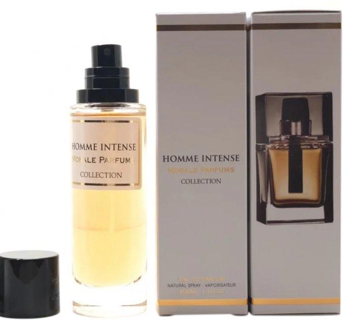 Парфюмированная вода для мужчин Мораль Парфюм Homme Intense версия Dior Homme Intense 30 мл (3780556496218) - изображение 1