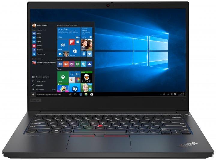 Ноутбук Lenovo ThinkPad E14 (20RA000WRT) Black - зображення 1