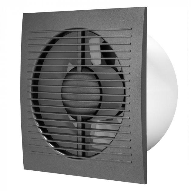 Витяжний вентилятор Europlast E-EXTRA EE150A антрацит - зображення 1