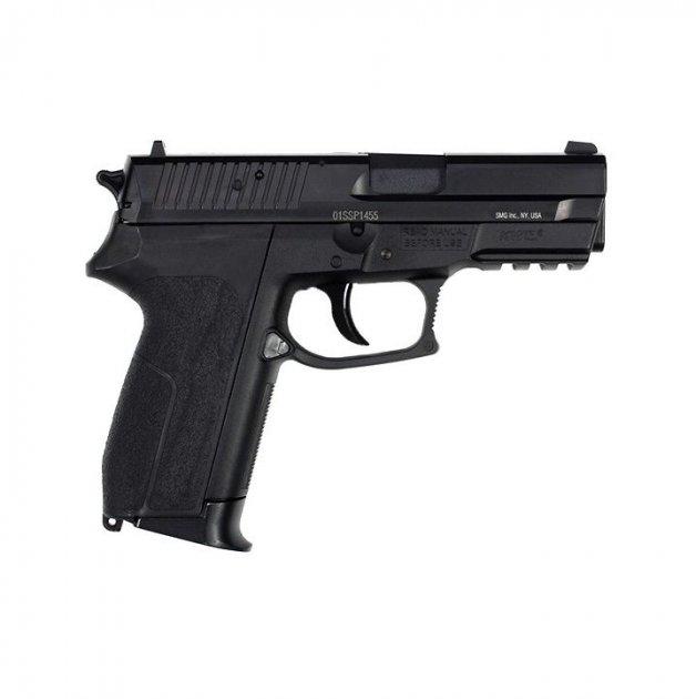 Пневматичний пістолет Gletcher SS 2202 Sig Sauer SP2022 Зіг Зауер газобалонний CO2 130 м/с - зображення 1