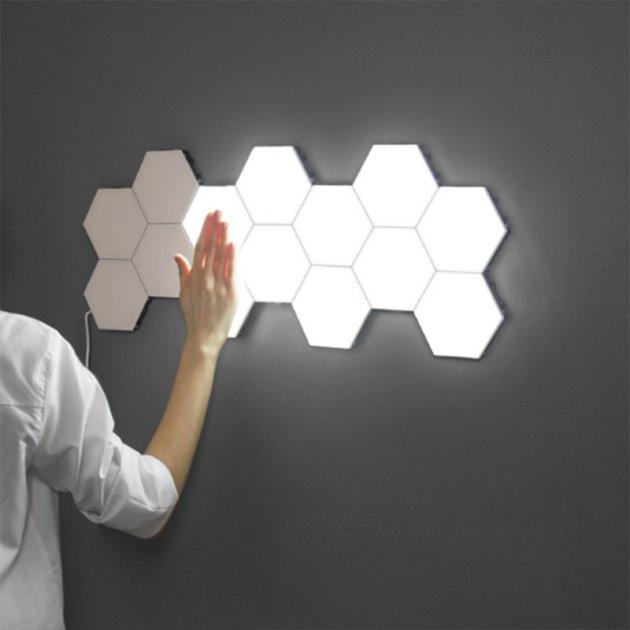Модульний LED світильник сенсорний 3Decor Quantum 5 шт білий - зображення 1