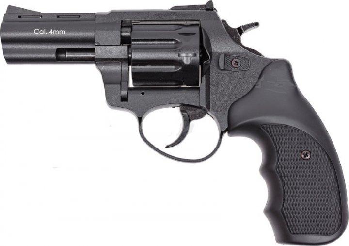 """Револьвер флобера STALKER S Black 3"""" с силуминовым барабаном - изображение 1"""