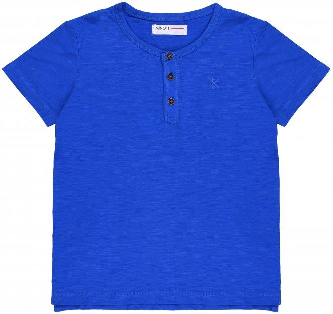Футболка Minoti 1Henley 4 13045 74-80 см Синяя (5059030306618) - изображение 1