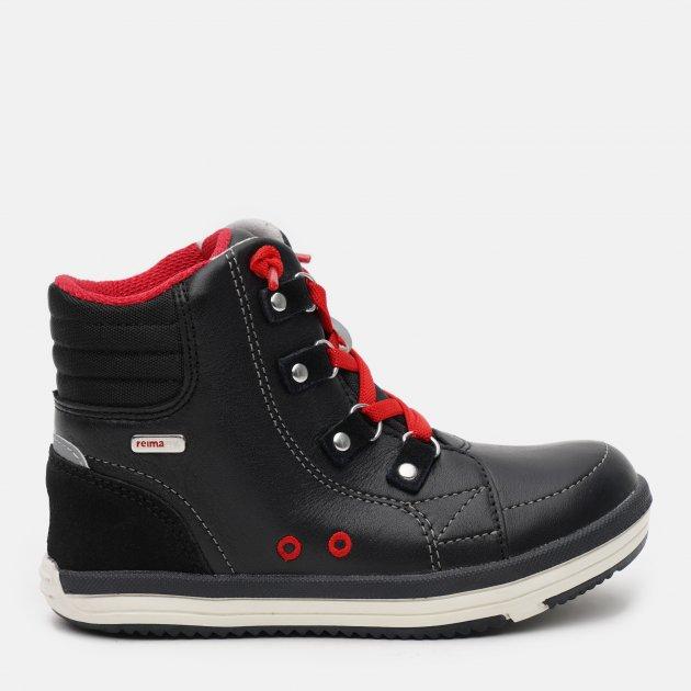 Ботинки демисезонные кожаные Reima 569318-9990 34 Черные (6416134740790)