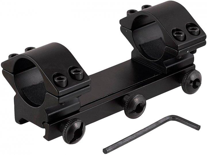 Крепление для оптики Grand Way Кр-2006-H=10 мм-d=25.4 мм-Weaver (Кр-2006-H) - изображение 1