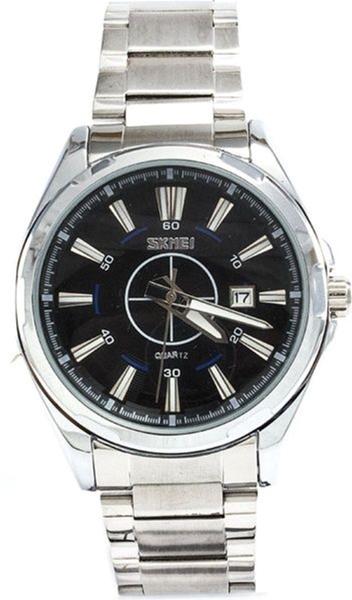 Мужские часы Skmei 9118 Black BOX (9118BOXBK) - изображение 1