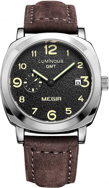 Мужские часы Megir Silver Brown MG1046 (ML1046GBN-1) - изображение 1