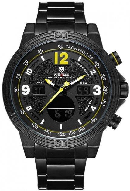 Мужские часы Weide Yellow WH6908B-3C SS (WH6908B-3C) - изображение 1