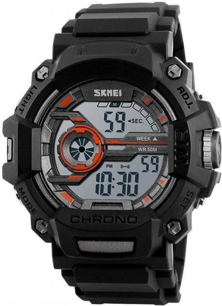 Мужские часы Skmei 1233 Orange BOX (1233BOXOR) - изображение 1
