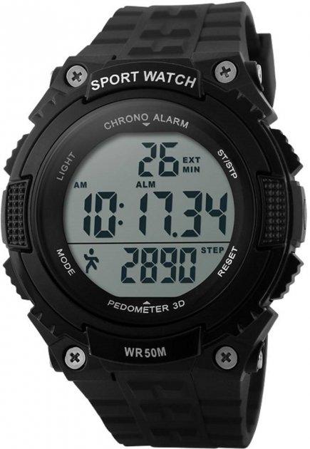 Мужские часы Skmei 1112 Black BOX (1112BOXBK) - изображение 1