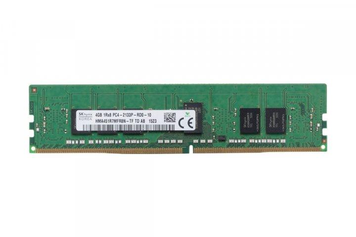 Оперативная память Hynix DDR4-RAM 4GB PC4-2133P ECC RDIMM 1R (HMA451R7MFR8N-TF) Refurbished - изображение 1