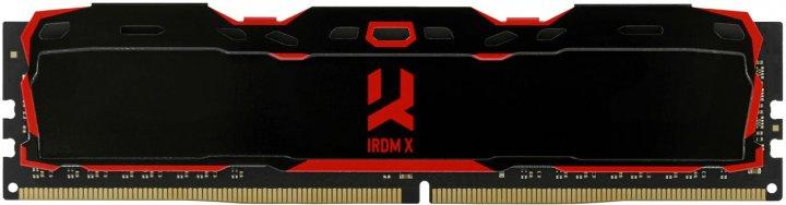 Оперативна пам'ять Goodram DDR4-2666 16384MB PC4-21300 IRDM X Black (IR-X2666D464L16/16G) - зображення 1