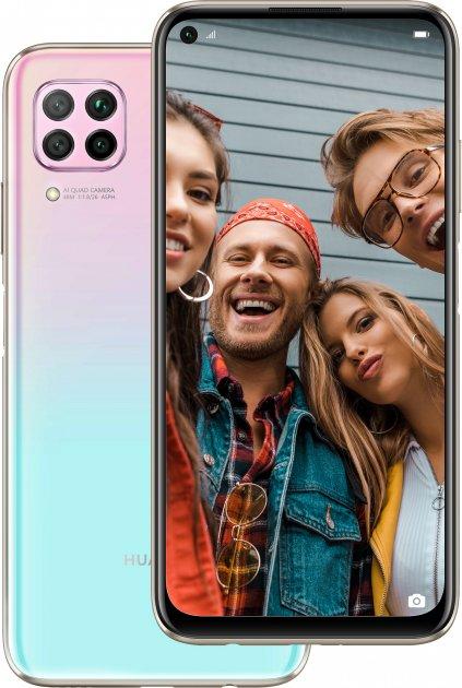 Мобильный телефон Huawei P40 lite 6/128GB Sakura Pink - изображение 1