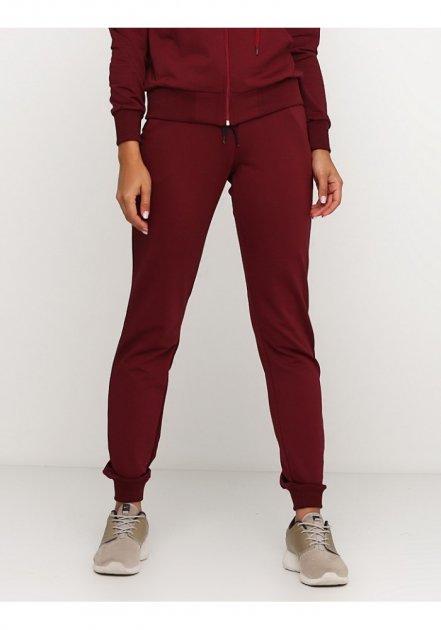 Жіночі спортивні штани демісезонні 03710 Ballet Grace Бордовий, L - зображення 1