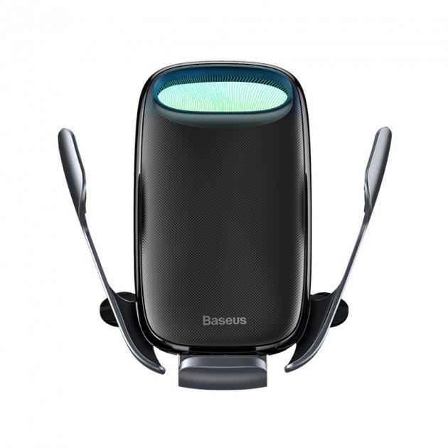 Автотримач з бездротовою зарядкою BASEUS Milky Way Electric Bracket Wireless Charger (15W) Автоматичний - зображення 1