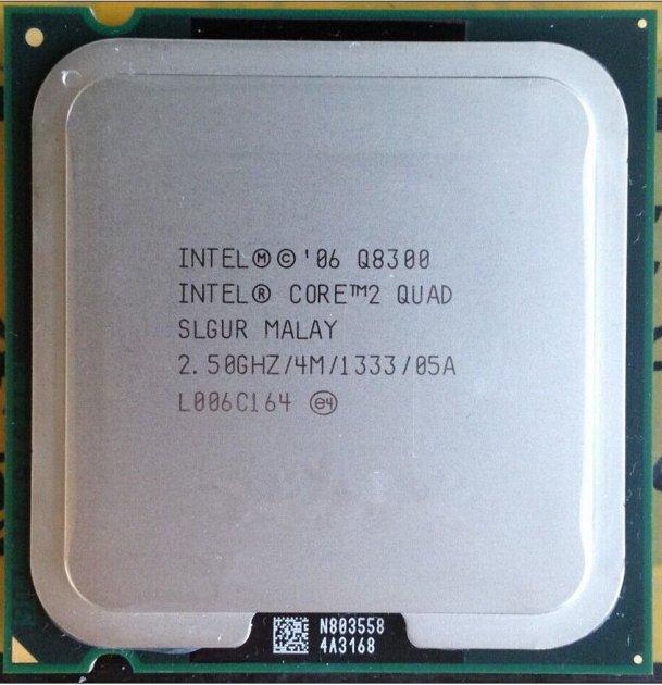 Б/У, Процесор, Intel Core 2 Quad Q8300 4 МБ, 2,50 GHz, 1333 GHz - зображення 1