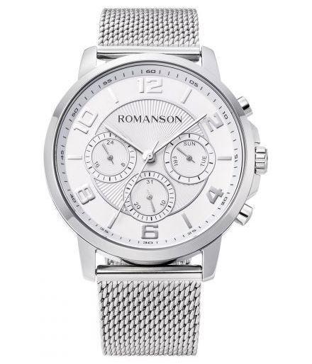 Мужские часы Romanson TM8A36FMWWAS2W(TM8A36FMW WH) - изображение 1