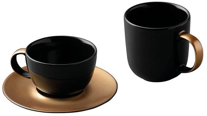 Набор для чая и кофе BergHOFF Ron Черный (1698006)