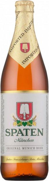 Упаковка пива Spaten Munchen світле фільтроване 5.2% 0.5 л х 20 шт. (4072700008477) - зображення 1