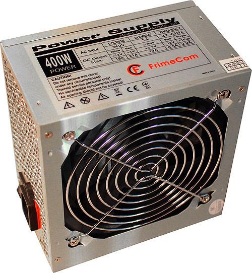 Блок живлення FrimeCom SM400BL 400W 12F ATX - зображення 1