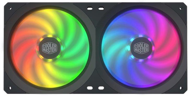 Кулер Cooler Master MasterFan SF240R ARGB (MFX-B2D2-18NPA-R1) - зображення 1