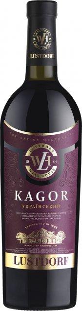 Вино Lustdorf Кагор червоне кріплене десертне солодке 0.75 л 16% (4820189291848) - зображення 1