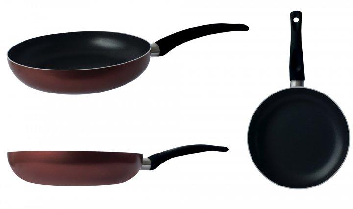 Сковорода Gusto, покрытие Xylan, 20x4см - изображение 1