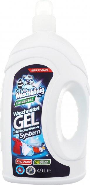 Гель для стирки Waschkonig Universal 4.9 л (4260418930801) - изображение 1