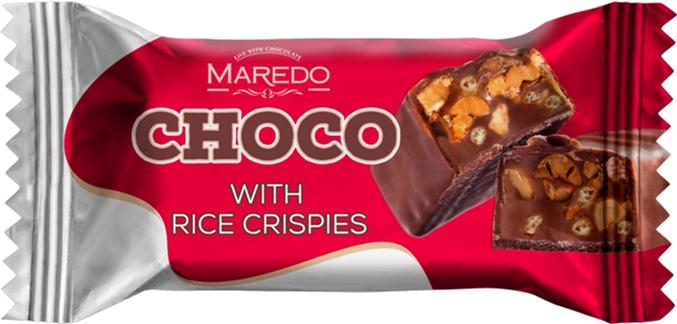 Конфеты Ulduz Choco с арахисом и воздушным рисом 1 кг (4760037604782) - изображение 1