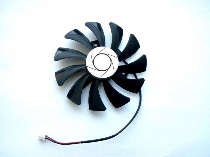 Вентилятор ONG HUA для видеокарты MSI HA9010H12F-Z 2-pin (№42) - изображение 1