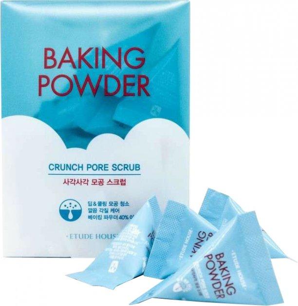 Скраб для лица Etude House Baking Powder Crunch Pore Scrub с содой для чистки пор 24 шт х 7 мл (8806199447990/8809667987189) - изображение 1