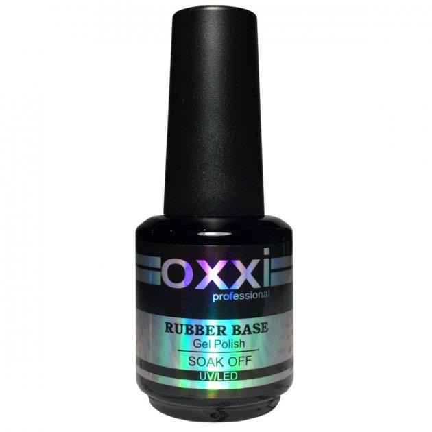 Базове покриття Oxxi Rubber Base 15 мл - зображення 1
