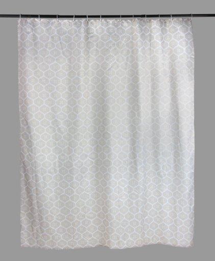 Шторка для душа SENSEA Romantic 180х200 см сіра (11716502) - зображення 1
