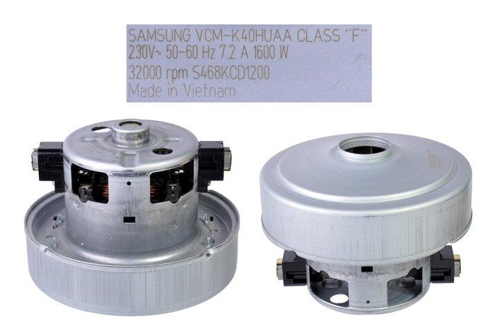 Двигун для пилососа Samsung VCM-K40HU AA, DJ31-00005H d=135 h=111 з буртом - зображення 1