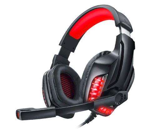 Наушники Real-El GDX-7650 Black-red (EL124100043) - изображение 1
