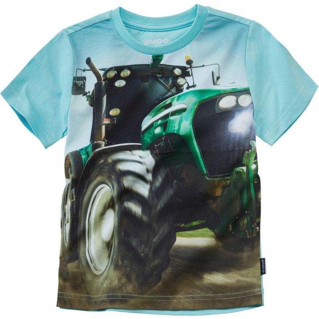 """Футболка """"Трактор"""" (фотодрук) Jako-o 140-146 см (9805) - изображение 1"""