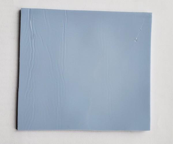 Термопрокладка ASTM D5470 100 мм х 100 мм х 2.0 мм 3W/mk синя - зображення 1