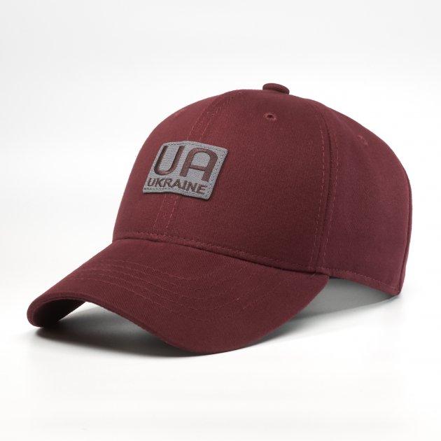 Кепка бейсболка мужская INAL Украина UA S / 53-54 RU Бордовый 208453 - изображение 1