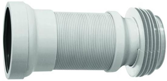 Гофра для унитаза PLAST BRNO 275-550 мм с металлическим армированием (IL24500) - изображение 1