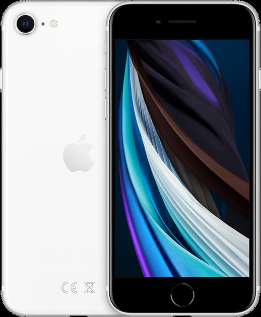 Мобильный телефон Apple iPhone SE 64GB 2020 White Официальная гарантия - изображение 1